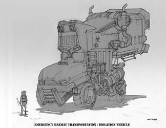 Hazmat Vehicle by GWhitehall