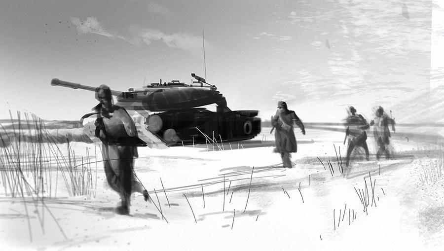 Korean War Study by GWhitehall