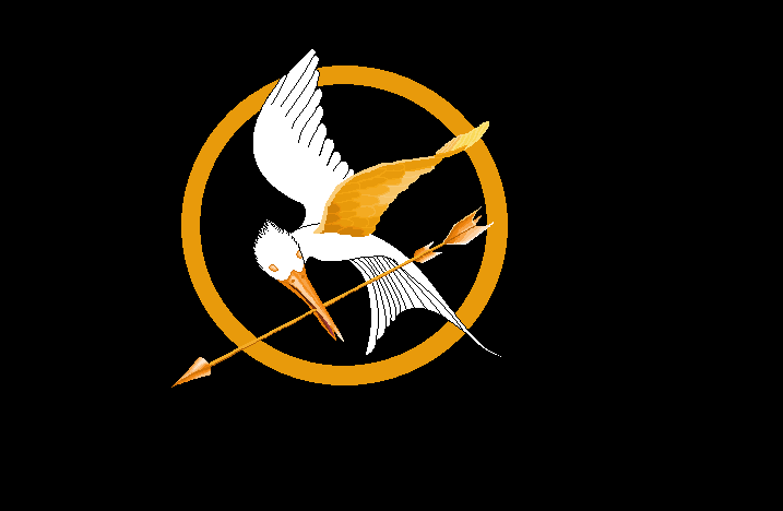 wip mockingjay symbol from the hunger games 2 by