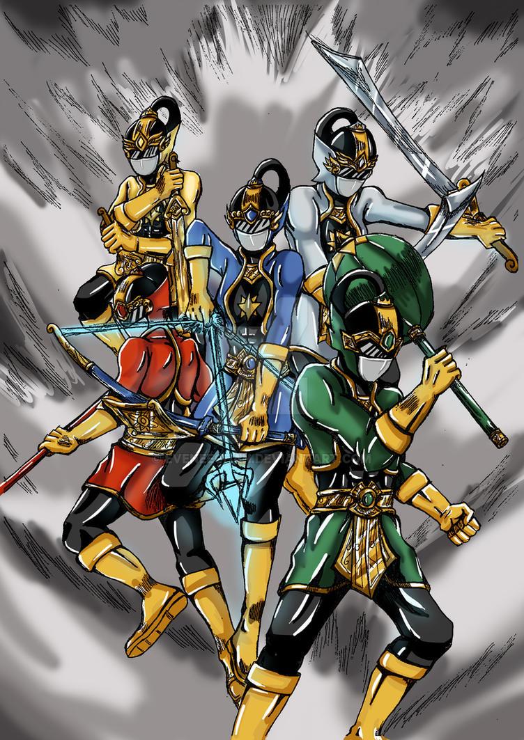 Pandawa Ranger by eveneechan