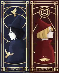 Tina and Queenie Goldstein Sisters Art Deco by eveneechan