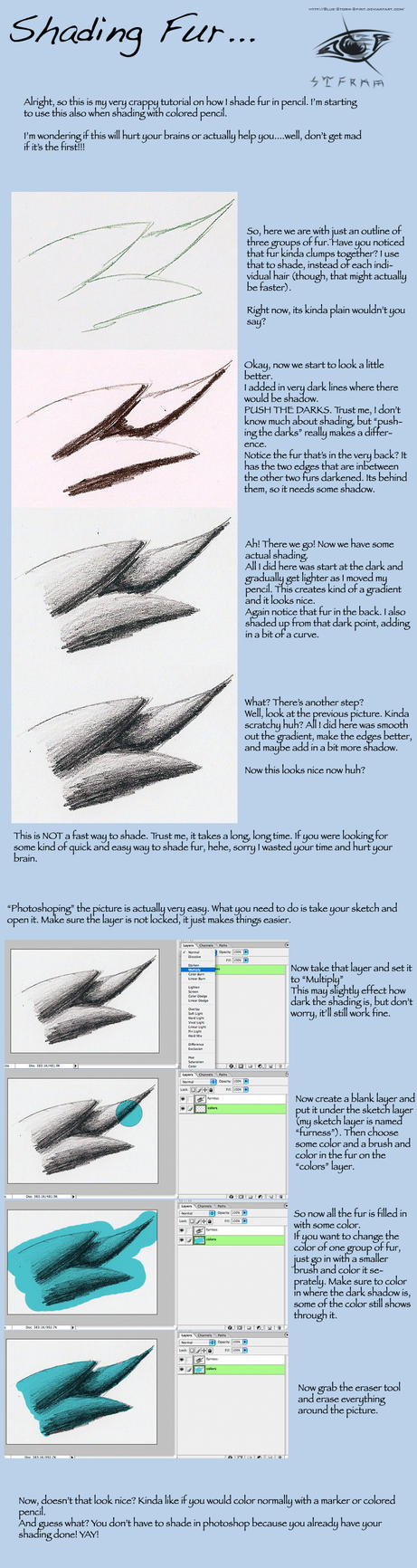 Fur Shading Tutorial by Blue-Storm-Spirit