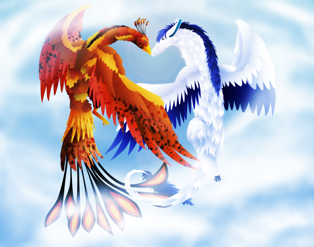Phoenix and Dragon by
