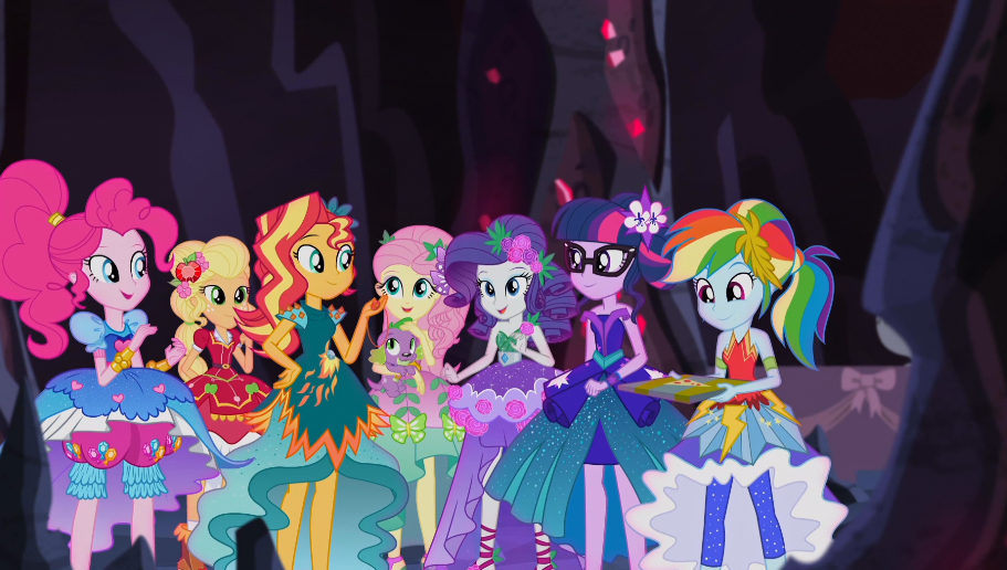 Mlp eqg legend of the everfree moments 27 by wakko2010 on for My little pony legend of everfree coloring pages