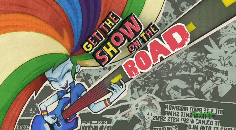MLP Equestria Girls the Show on the Road part Name by Wakko2010