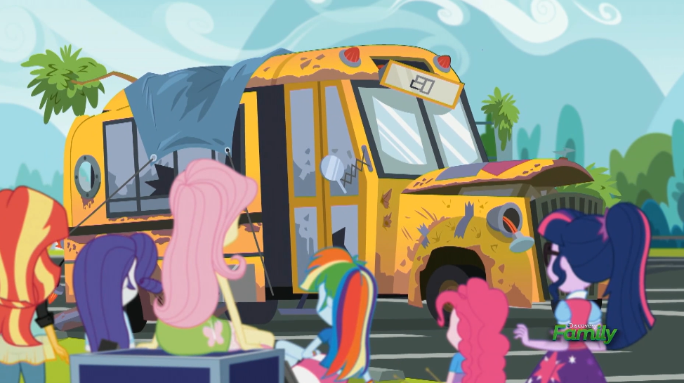 MLP EQG  Get the Show on the Road Moments 2 by Wakko2010