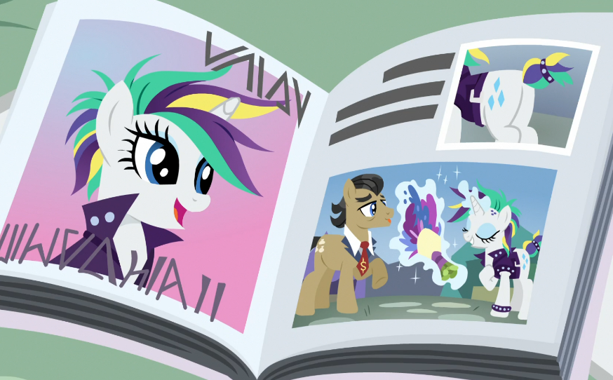 Rarity Great Pictures In Magazim 2 by Wakko2010