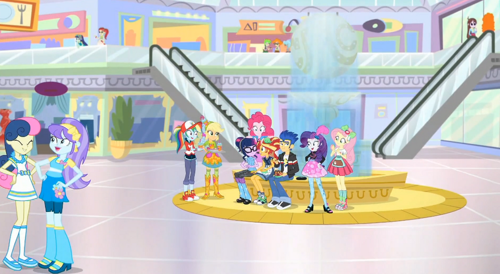 MLP Equestria Girls Good Vibes Moments 9 by Wakko2010