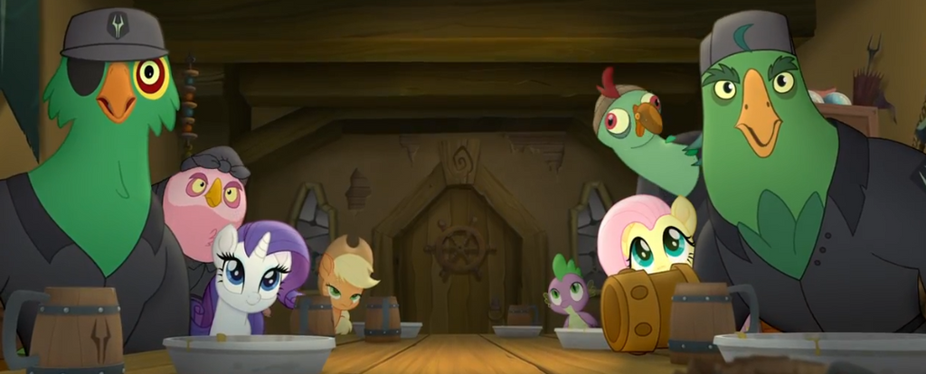 My little Pony : The Movie Moments 21 by Wakko2010