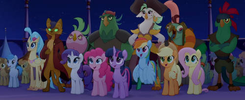 My little Pony : The Movie Moments 45 by Wakko2010