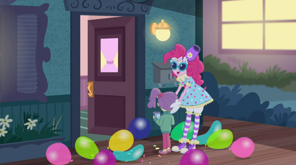MLP Equestria Girls Pinkie Sitting Moments 2 by Wakko2010
