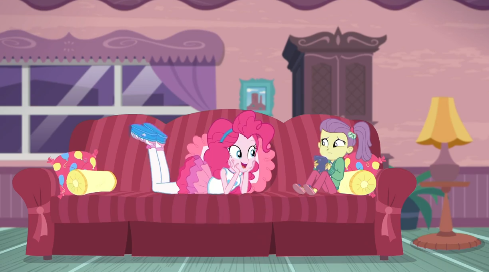 MLP Equestria Girls Pinkie Sitting Moments 3 by Wakko2010