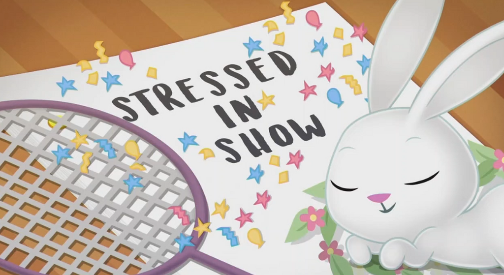 MLP EQG Stressend in Show  part Name by Wakko2010