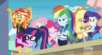 MLP EQG  Rollarcoaster of Friendship Moments 14