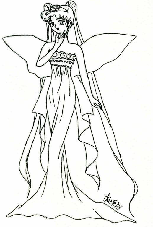 princess serenity sailor moon coloring pages coloring pages