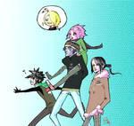 AkaSaku . Go Team Flower