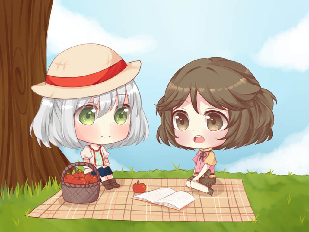 Picnic by MieuMew