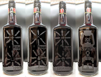 Deacon's Railroad Teaching Bottle of Jim Beam