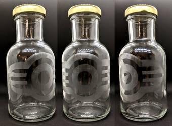 Vault-Tec Corporation Etched Bottle