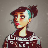 [Portrait] Concept Of Love by Elena-El