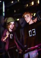 [Illustration] Alien Party by Elena-El