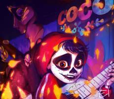 [Fanart] Coco - Miguel and Hector by Elena-El