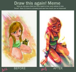 [DrawThisAgain!] XXO by Elena-El