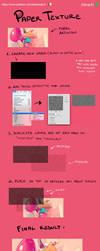 [Tutorial] Paper texture by Elena-El