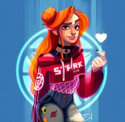 [DrawThisInYourStyle] Gwen Stark by Elena-El