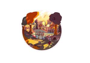 #MisadventureMay 03_ Characters Overlooking Realm