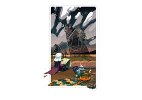 #MisadventureMay 06_ Giant Characters Walking...