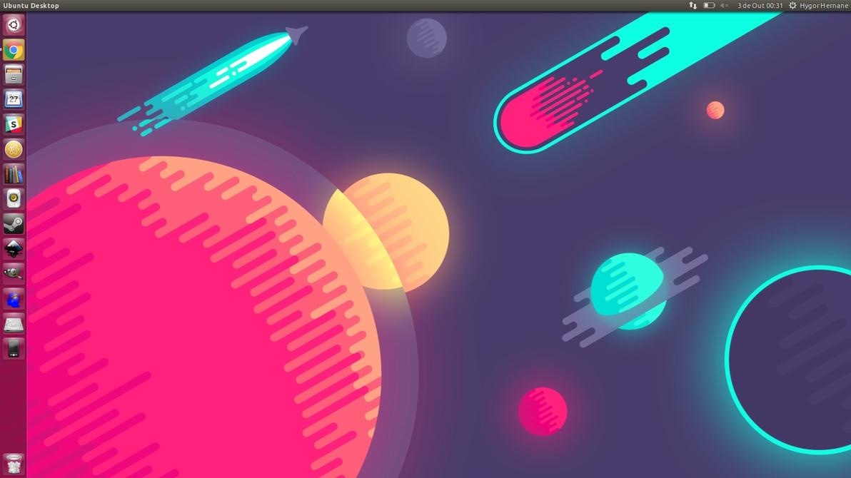 Ubuntu Galaxy by black-panda
