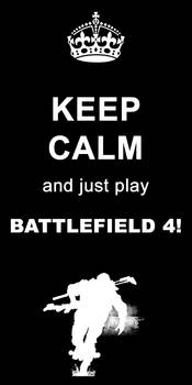 Keep Calm Bf4 By J Maharaja