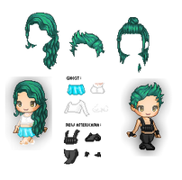 Halsey Inspired Pack by CarolynNguyen