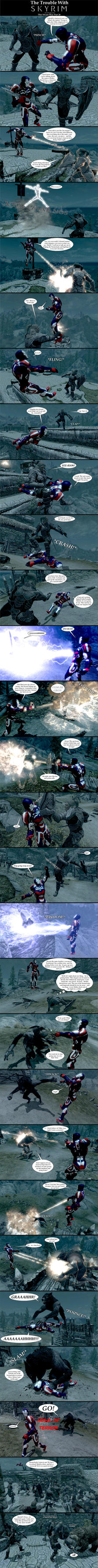 The Trouble with Skyrim: This Means War Part 26 by Sir-Douglas-of-Fir