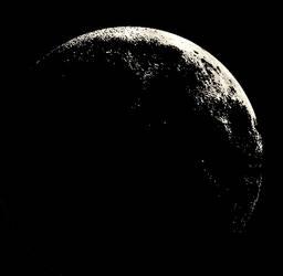 Transparent Moon