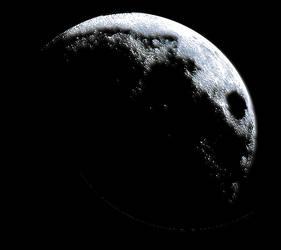 Transparent Blue Moon