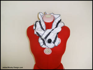 Buttoned Up Lolita Scarf
