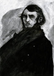 Portrait of Gustave Dore by Marianto