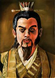 Self Portrait - The Conqueror by Marianto