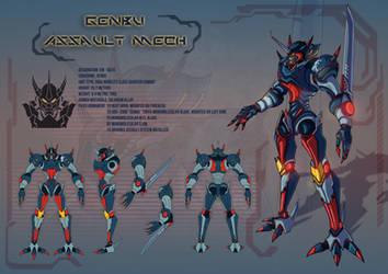 Genbu Assault Mech by Marianto