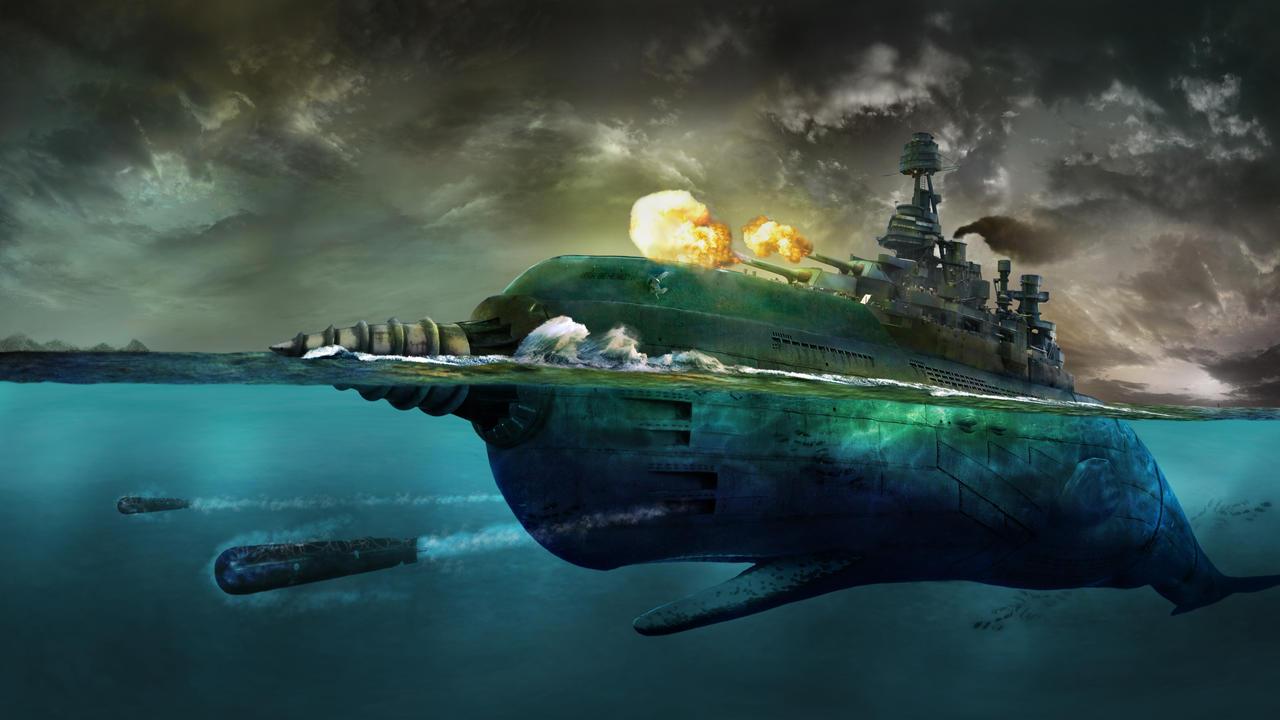 Sperm to float a battleship