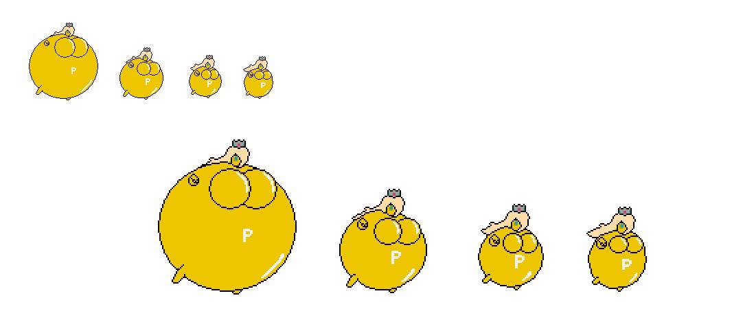 P-Balloonian Rosalina Deflating by MarratoKensuto