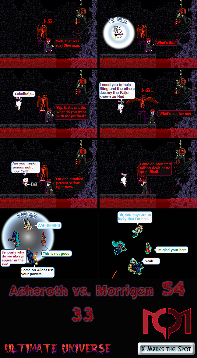 Asheroth vs. Morrigan S4 Part 33 by MarratoKensuto