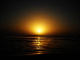 Sunset in Piriapolis by TheBigFreak89