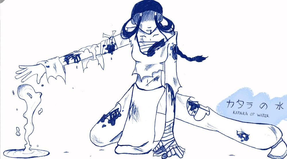 Avatar Fanart- Katara by Littlerain