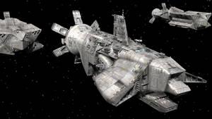 McKenna Warship by shortpainter