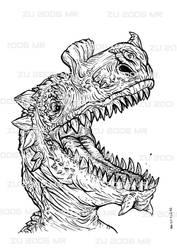 Dino cabeza by zu-2099