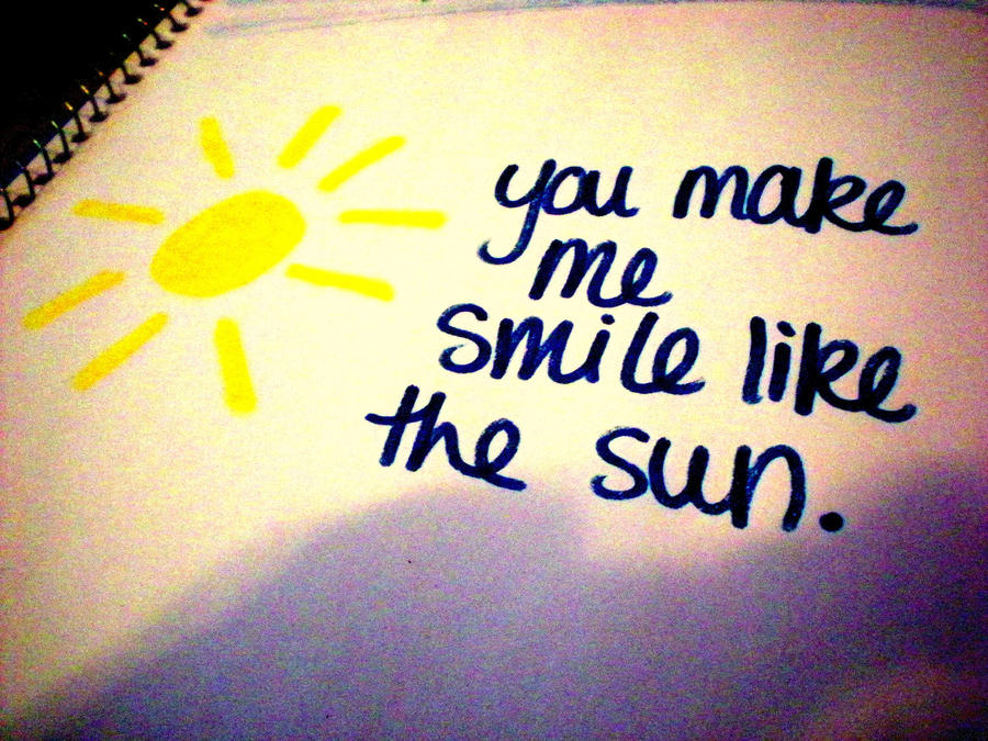 You Make Me Smile Quotes And Sayings. QuotesGram