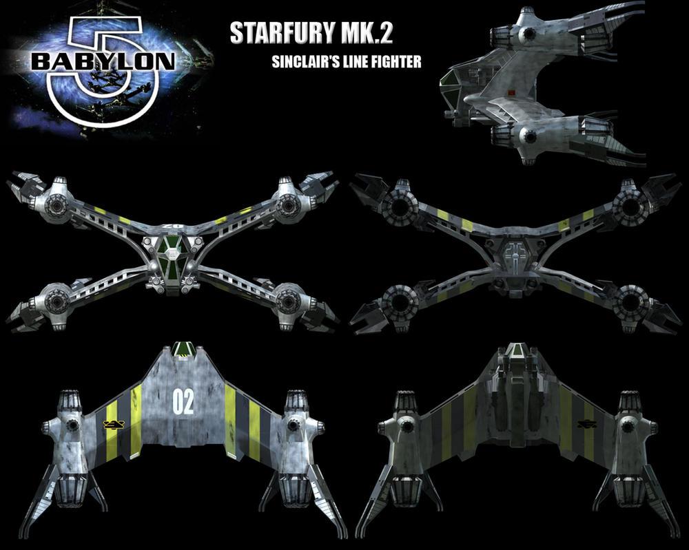 Babylon 5 - STARFURY MK.2 - 01 by TMC-Deluxe